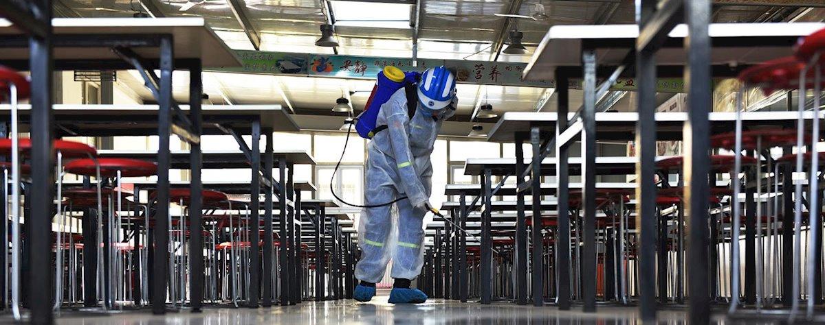 desinfección coronavirus interiores Zaragoza
